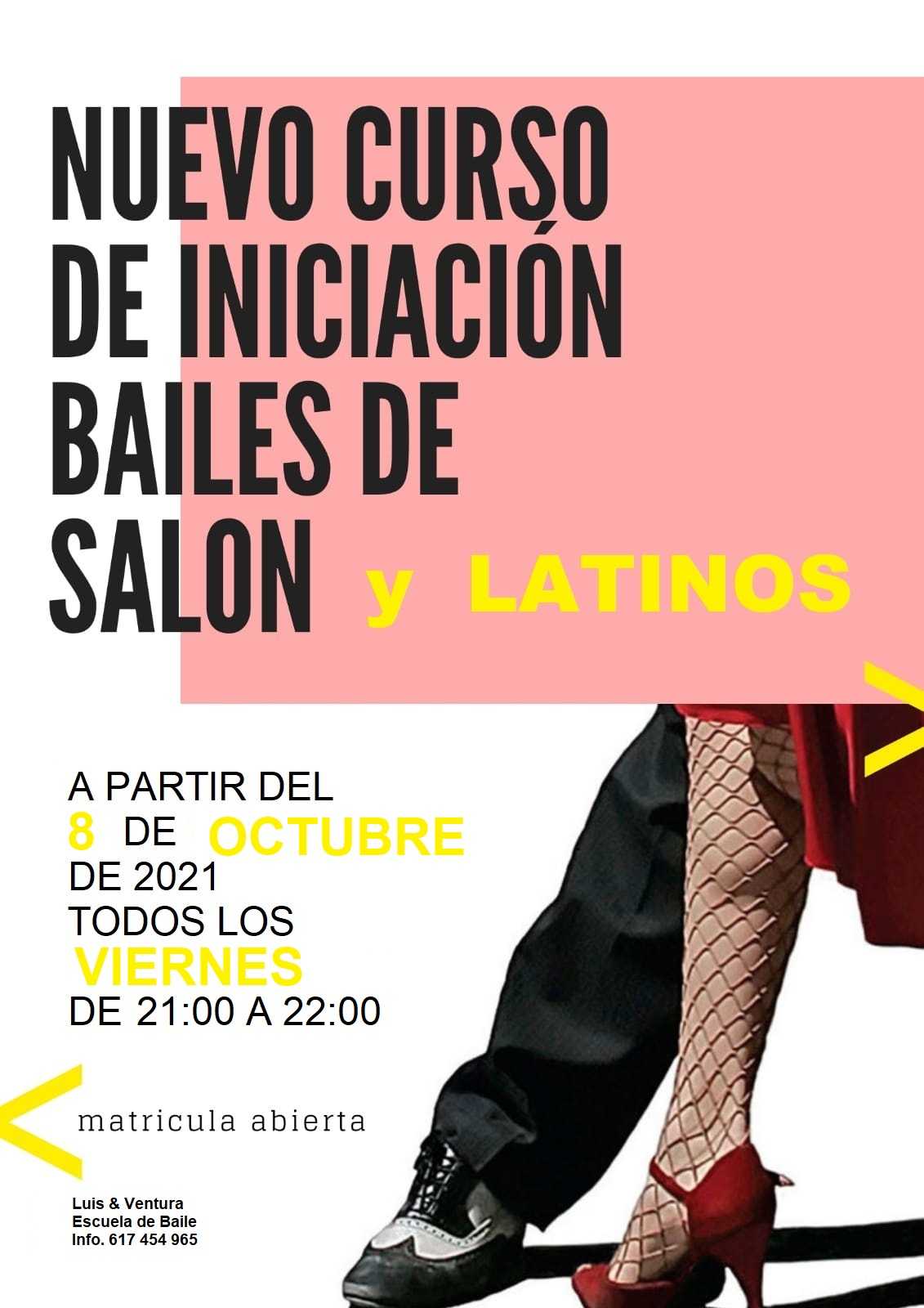 nuevo cursos baile martes 2019-2020