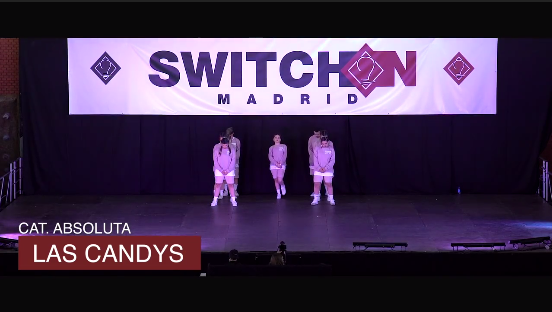 Categoría Absoluta Las Candys Switch On Madrid 2017