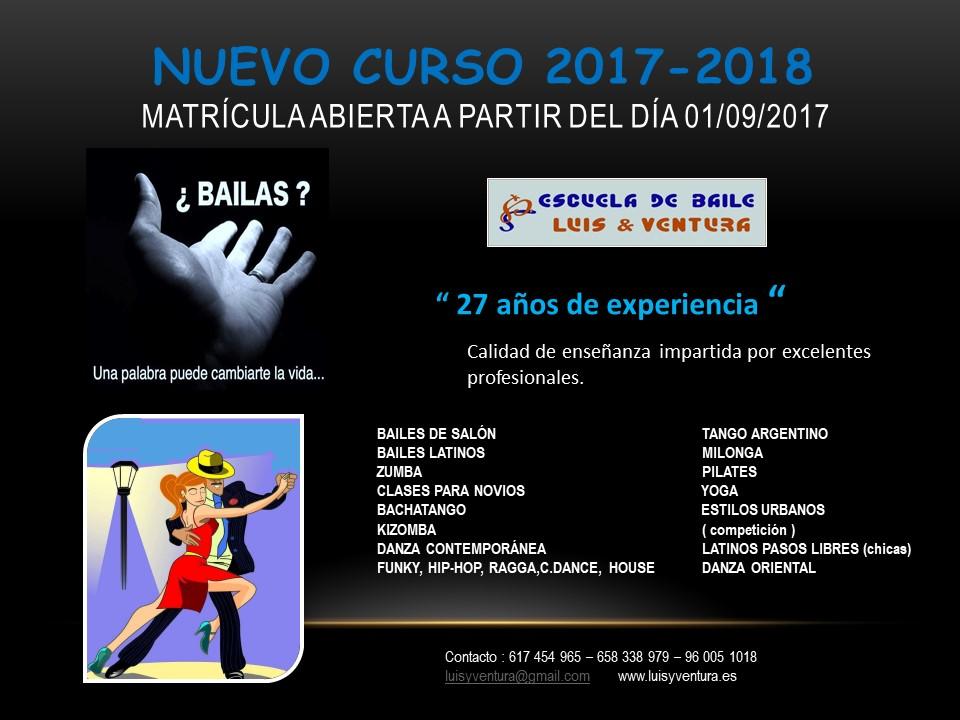 NUEVO CURSO 2017-2018