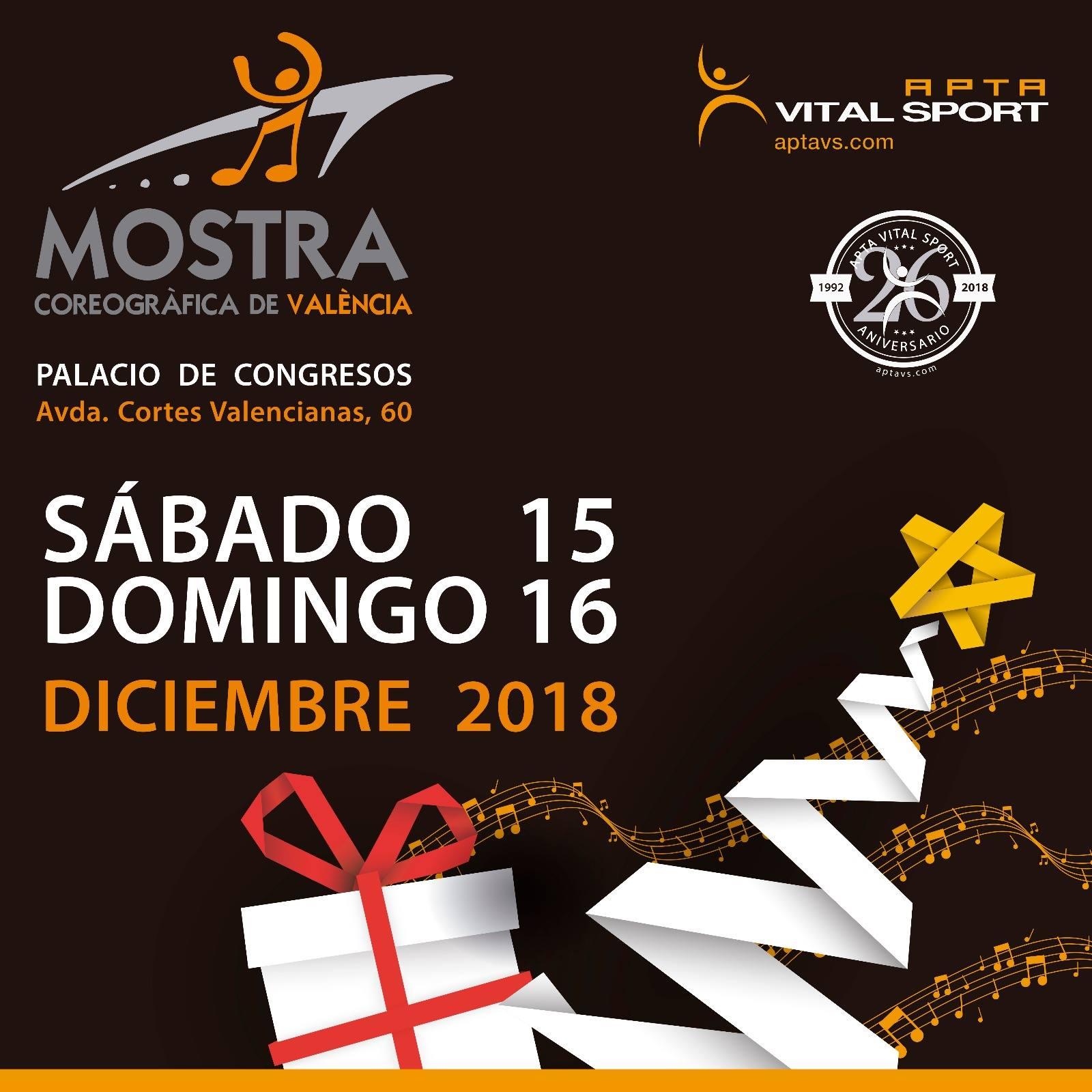 CARTEL MOSTRA COREOGRÁFICA 2018